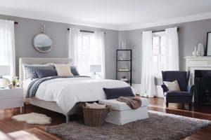 JadeCouleur gris chambre