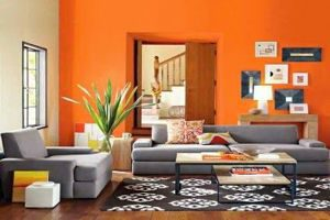 JadeCouleur orange sejour